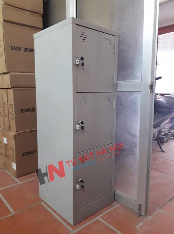 Cung cấp khách lẻ tủ sắt locker 3 cánh tại Nguyễn Ngọc Nại 2