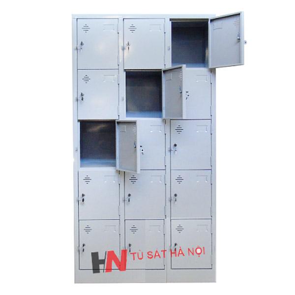 tủ locker sắt 15 ngăn