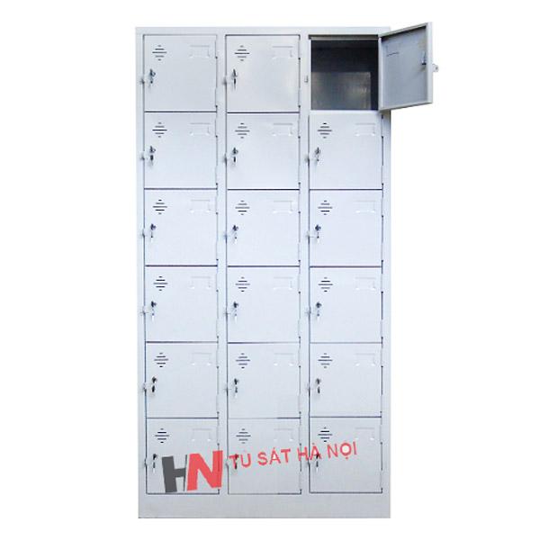 kích thước tủ locker 18 ngăn