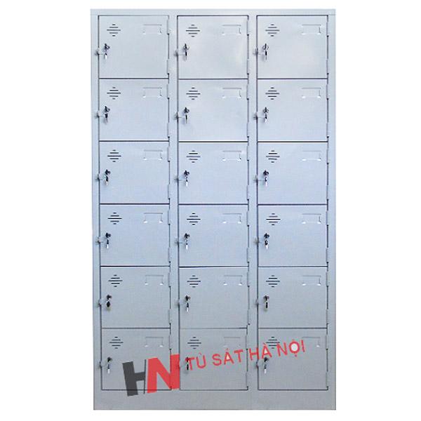 Tủ locker sắt 18 ngăn