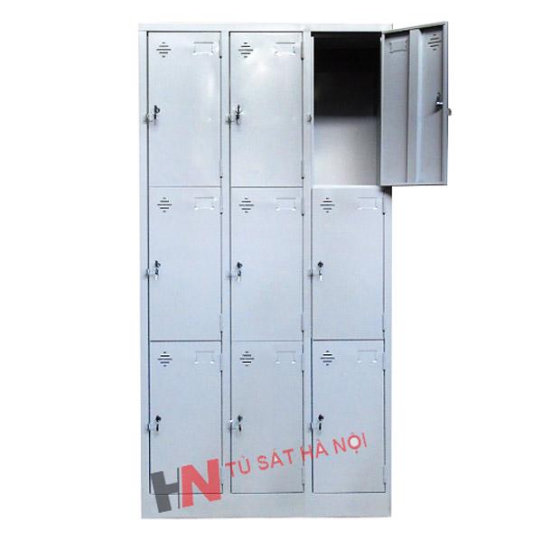 kích thước tủ locker 9 ngăn