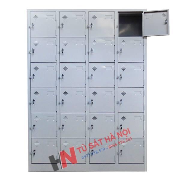 kích thước tủ locker sắt 24 ngăn