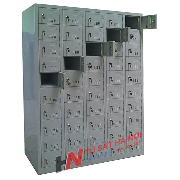 kích thước tủ locker sắt 50 ngăn